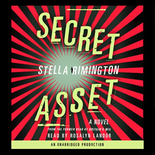 Secret Asset audiobook cover art