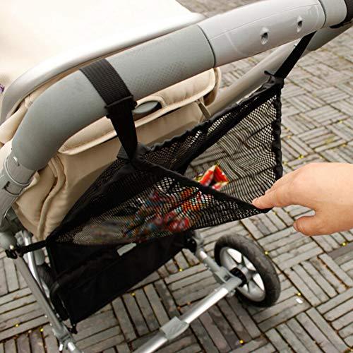 Hankyky Kinderwagen Tasche Baby Kinderwagen Mesh Tasche Baby Kinderwagen Mesh Flasche Windel Aufbewahrung Tasche Baby Kinderwagen Lagerung