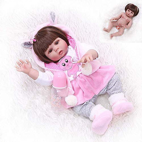 Boneca Bebe Reborn Laura Baby Paola, NPK DOLL