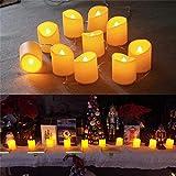 YXYQR - Guirnalda de 10 luces LED sin llama, 1,5 m, con enchufe USB, luces LED parpadeantes, decoración para el hogar, cumpleaños, fiestas, salones, bodas, mesa de chimenea (extensible)