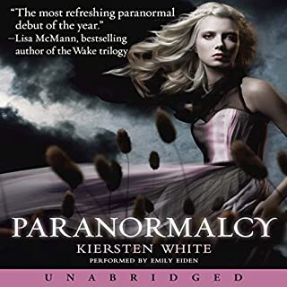 Paranormalcy audiobook cover art