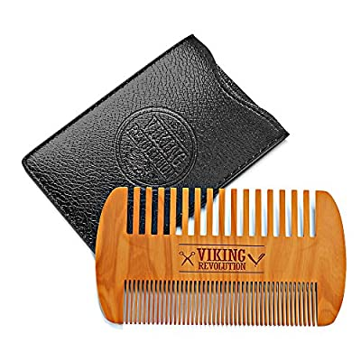 Wooden Beard Comb &