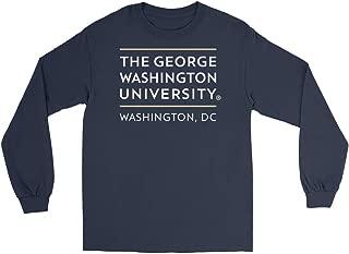 Official NCAA George Washington University Colonels - RYLGWU06 Mens/Womens Boyfriend Long Sleeve Tee