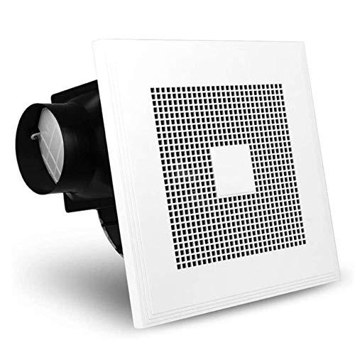 YGB Ventilador Nuevo, Ventilador Fino y silencioso para baño con Ventilador de Escape Integrado en el Techo en el Ventilador de ventilación de Humo de la Cocina del hogar