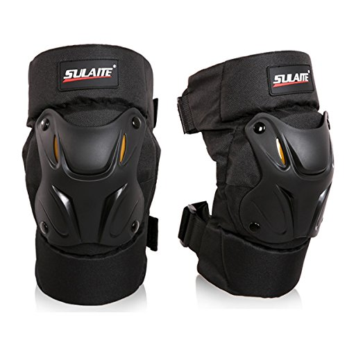 GuTe Knee Pads Guard Gear Protective for Motorcycle Mountain Biking Bicycle -1 Pair
