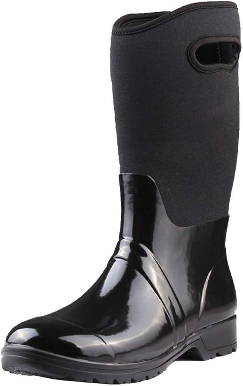 FORTUN Fashion Tube Water shoes Women's rain Boots Rubber shoes