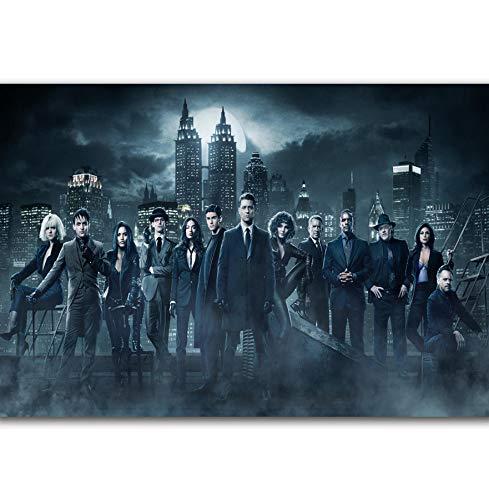 RUIYAN Leinwandbilder Wandbilder TV Serien Gotham Staffel 4 Ben McKenzie F Poster drucken Mt33Z 40X60Cm ohne Rahmen