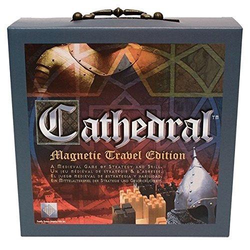 Family Games 605, Cathedral Magnetic Travel, Gioco Da Tavolo Strategico per 2 Giocatori, Multicolore