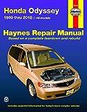 Honda Odyssey 1999 thru 2010 Haynes Repair Manual