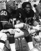 Otis Sistrunk & Bubba Smith Oakland Raiders 8x10 Sports Action Photo