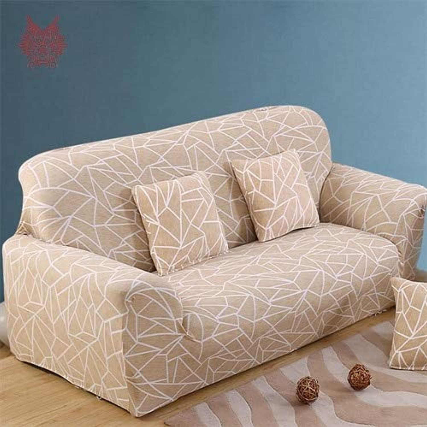 1SEAT 2SEATS 3SEATS 4SEATS Geometric Print Stretch seat Covers Slipcover Universal Elastic Force Sofa Covers SP3968 Free Ship   Geometric Print, 45cm45cm Pillowcase