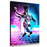 Jimmy Butler basketball poster room decoration canvas wall art print large size poster (24x30inch,Canvas roll)