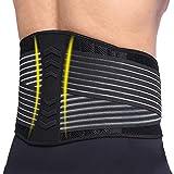 AOSTFOX Lendenwirbelstütze, verstellbare Rückenstützgürtel, Rückenstabilisator,...