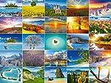 Set di cartoline 'Paesi Bassi', 30 diversi motivi dalla Germania al Mare del Sud