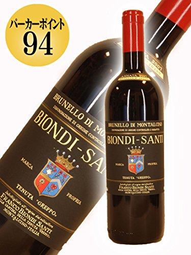 BIONDI SANTI Vino Rosso -Brunello Di Montalcino- 2007 0,75lt DOCG …