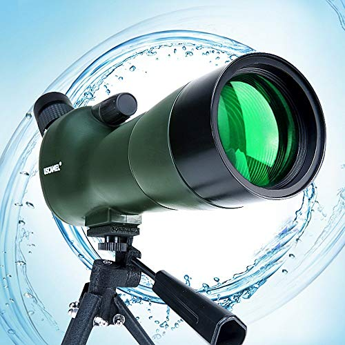 GXY Traveling to See The Scenic Telescope,Monoculars 20X60 Spotting Scope- Waterproof Scope for Bird Watching Target Shooting Archery Range Outdoor Activities/Objective Lens: 60mm