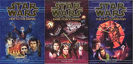 Star Wars ~ The Thrawn Trilogy: (Vol. 1) Heir to the Empire ; (Vol. 2) Dark Force Rising ; (Vol. 3) The Last Command
