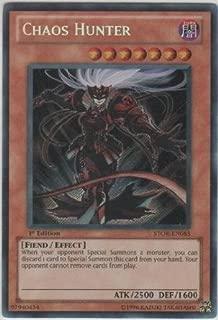 Yu-Gi-Oh! - Chaos Hunter (STOR-EN085) - Storm of Ragnarok - Unlimited Edition - Secret Rare