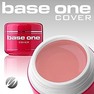 Silcare Base One Cover 15g Gel UV Camuflaje Ideal para uñas francesas Constructor Lima Gel Silcare
