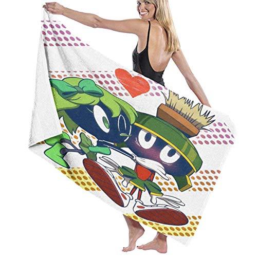 DJNGN Ma-rv-in The M-arti_an Planet 03 Toallas de microfibra para piscina Manta de esterilla Secado rápido Envoltura de toalla unisex Albornoces de ducha ecológicos para niños, niñas, mujeres, hombres