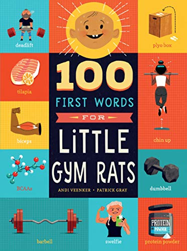 100 First Words for Little Gym Rats (English Edition)