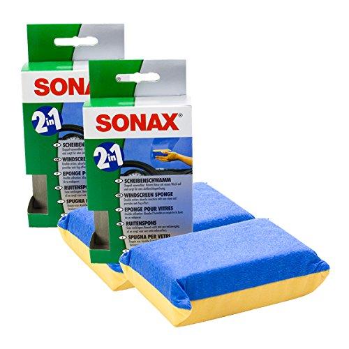 SONAX 2X 04171000 ScheibenSchwamm 1 Stück