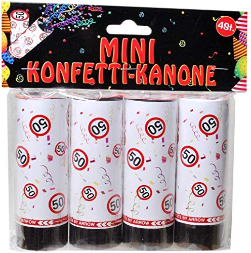 Udo Schmidt GmbH Mini-Konfetti Kanonen 50