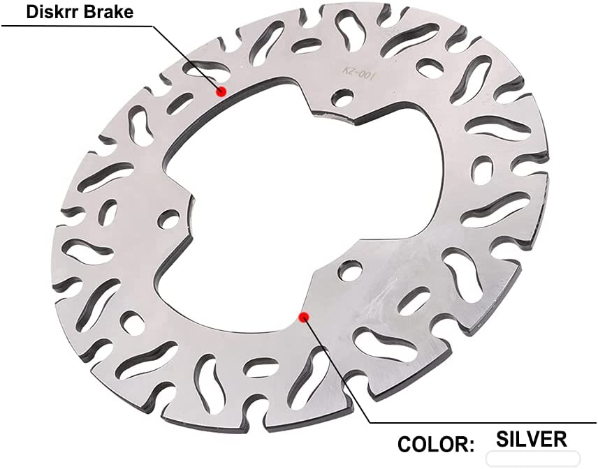 JFG RACING Motorcycle Rear Charlotte Mall Brake Disc TZM1 Rotor Fits Las Vegas Mall TZR125 For