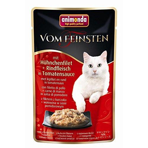 Animonda Vom Feinsten - Hühnchenfilet & Rindfleisch - 18x 50 Gramm