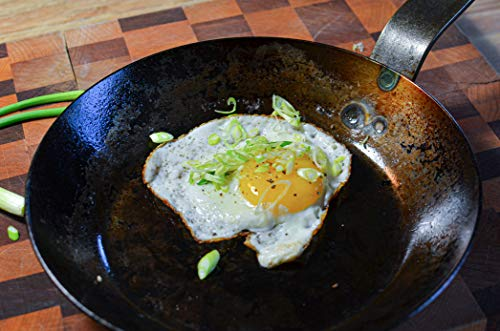 Product Image 7: Matfer Bourgeat Black Carbon Steel Fry Pan, 9 1/2″