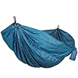 Grand Trunk Print Hammock - Camping Double, Tree Hanging Kit Included, Quality Nylon, Portable, Indoor Outdoor, Travel, Backpacking, Survival, Batik