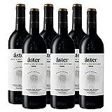 Vino Tinto Aster Finca El Otero de 75 cl - D.O. Ribera del Duero - Bodegas Aster (Pack de 6 botellas)