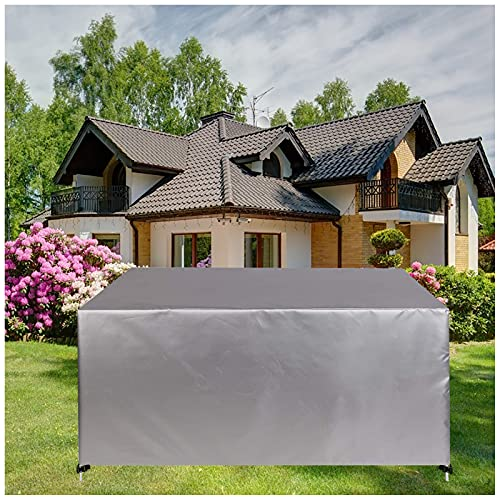 Funda para Muebles de Jardín,Protectora para Muebles de jardín,Cubierta de Muebles de Mesas Rectangular, Cubierta de Mesa de jardín, Cubierta de Exterior Impermeable,Anti-UV