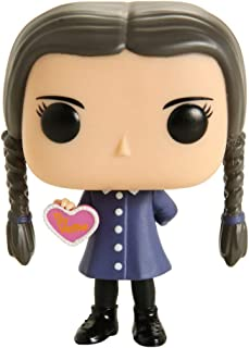 Funko Pop! Television The Addams Family: Wednesday Addams #816 Figura de vinilo (tema caliente exclusivo)