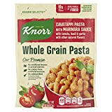 Knorr Selects Cavatappi Pasta with Marinara Sauce is a premium whole grain pasta side dish made with no artificial flavors and no artificial preservatives Knorr Selects Cavatappi Pasta with Marinara Sauce expertly blends tomato, basil and garlic into...
