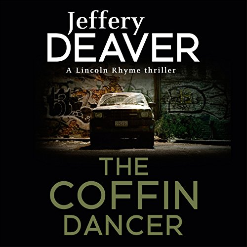 The Coffin Dancer audiobook cover art
