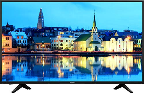 HISENSE H39AE5500 TV LED Full HD, 39 pollici, Natural Colour Enhancer, Quad Core, Smart TV VIDAA U, Crystal Clear Sound 14W, Tuner DVB-T2/S2 HEVC, Wi-Fi