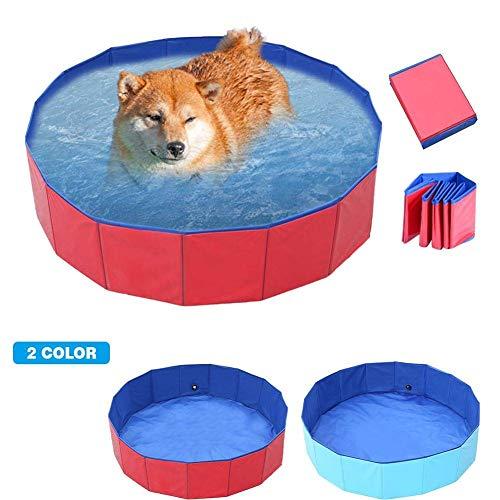 LXDDP Piscina para niños Piscina para Perros Plegable Gatos Piscina Piscina para Mascotas Bañera Bañera Estanque Agua Niños Niños Bolas Arena Cajón Arena para jardín Patio Baño