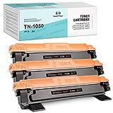 3 Superpage Compatible para brother TN1050 TN-1050 Negro Cartucho de Tóner para Brother MFC-1810 DCP-1510 HL-1110 DCP-1512 DCP-1610W HL-1210W HL-1212W DCP-1612W MFC-1815 MFC-1910W MFC-1915W HL-1112