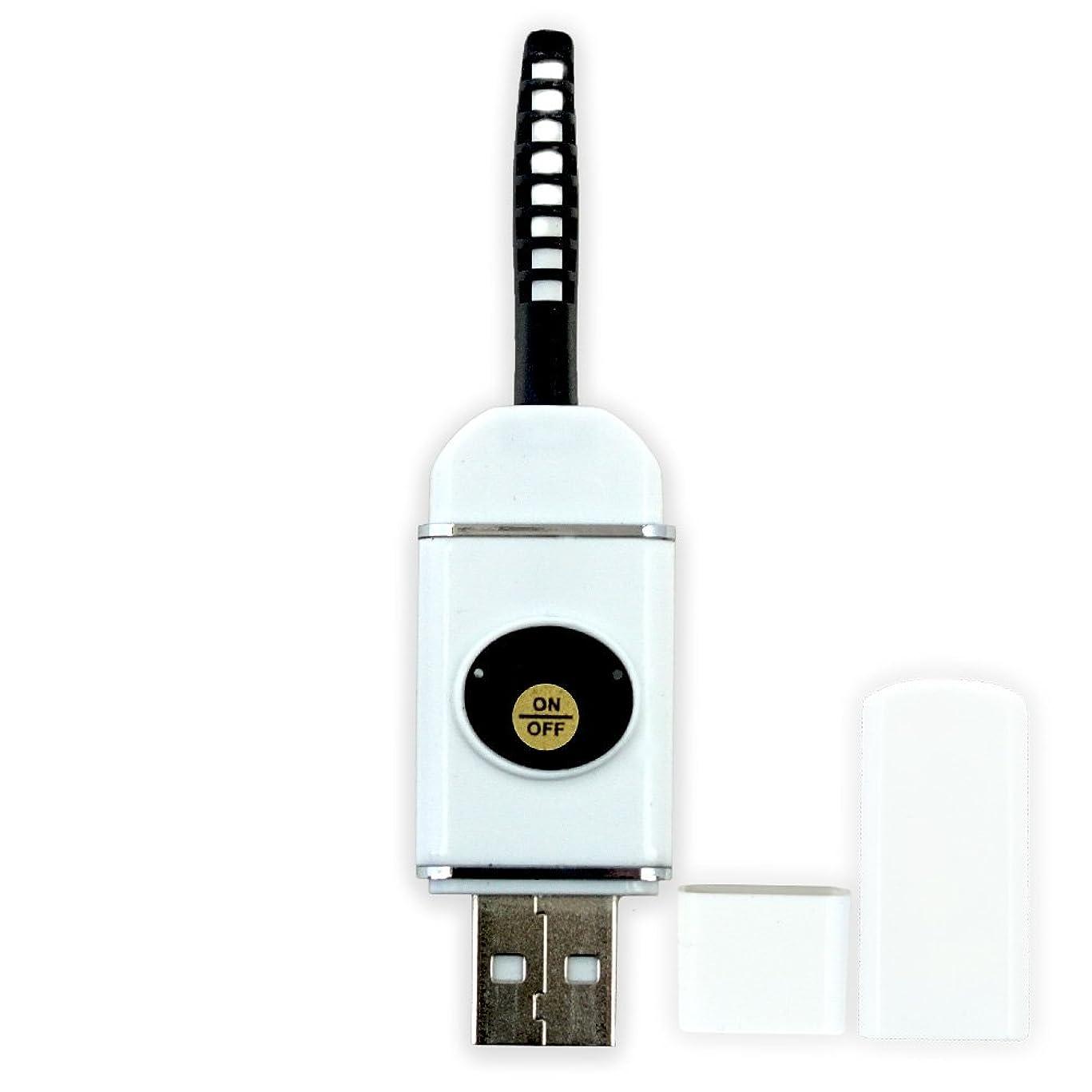 タイピスト羊の服を着た狼押す【即納】USB充電式 まつ毛 カーラー ホット ビューラー