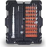 Gymqian Destornilladores de Precisión Herramientas para Reparaciones en el Hogar para Teléfonos Móviles,Ordenadores Portátiles,Relojes,Etc. Juego de Destornilladores de Precisión Juego de