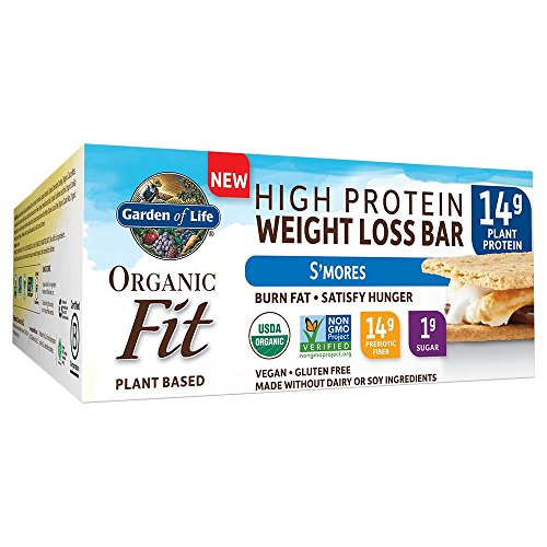 Garden of Life Organic Fit Bar S'Mores (12 per Carton)