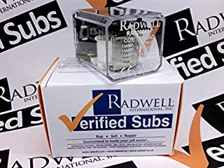 RADWELL VERIFIED SUBSTITUTE HP31115VACSUB Relay - 120VAC, 13A SPDT Plug in Relay- Replaces AROMAT PN: HP31115VAC