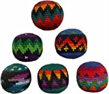 Set of 6 Hacky Sacks - Multicolor Design
