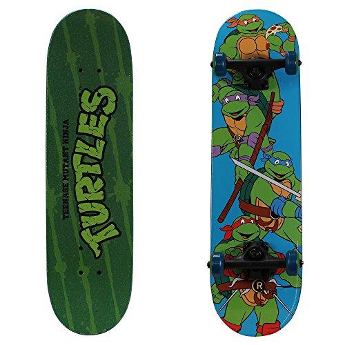 """PlayWheels Teenage Mutant Ninja Turtles 28""""  Skateboard, Turtle Time"""