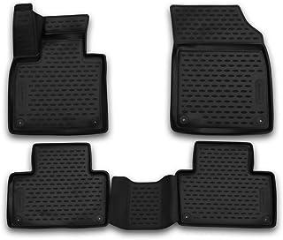 Original Volvo Fußmattensatz Gummi schwarz 5 Stück XC90 ab 2016  *32261235*