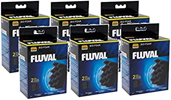 Fluval 6 Pack of Bio Foam Aquarium Filter Media for 304 305 306 404 405 406 Canister Filters