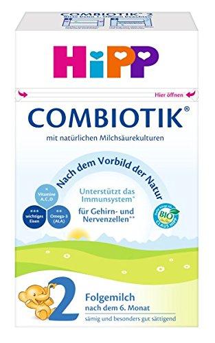 HiPP 2 Bio Combiotik, Folgemilch nach dem 6. Monat (600 g)