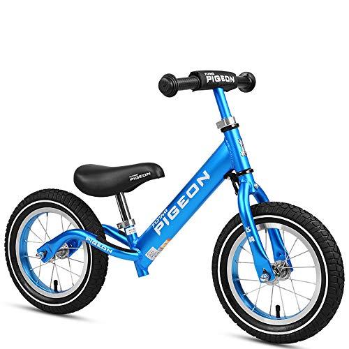 MYMAO 0112 Kinderloopfiets, geen pedalen, verstelbaar stuur voor 2-6 jaar oude kinderfietsen, jongens en meisjes, geen pedaalfietsen