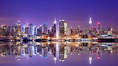 Cuadro Lienzo – Nueva York El Horizonte De Ciudad